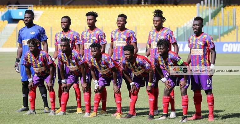 Caf Champions League: Hearts of Oak to face Wydad Casablanca in 2nd prelim games