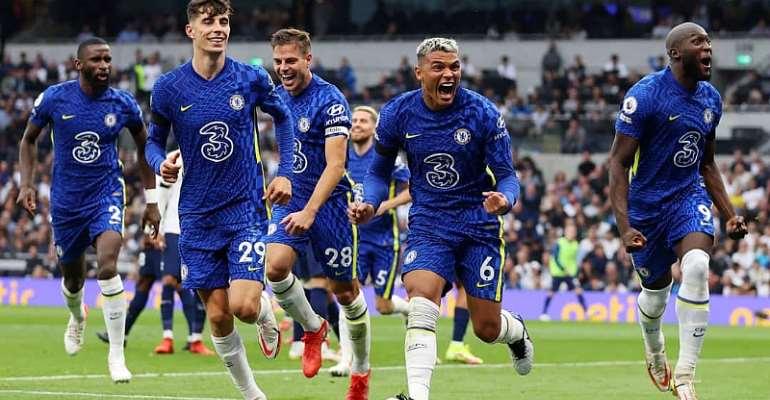 PL: Brilliant Chelsea dominate derby to beat Tottenham Hotspur