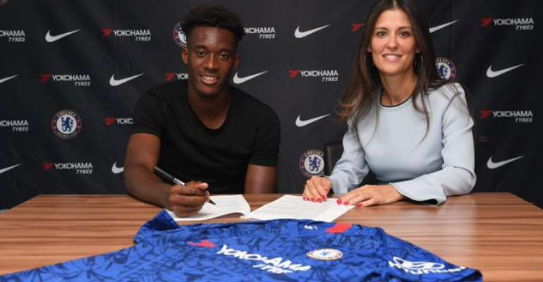 Hudson-Odoi Signs New Five-Year Chelsea Deal Thought To Be Worth £180k A Week