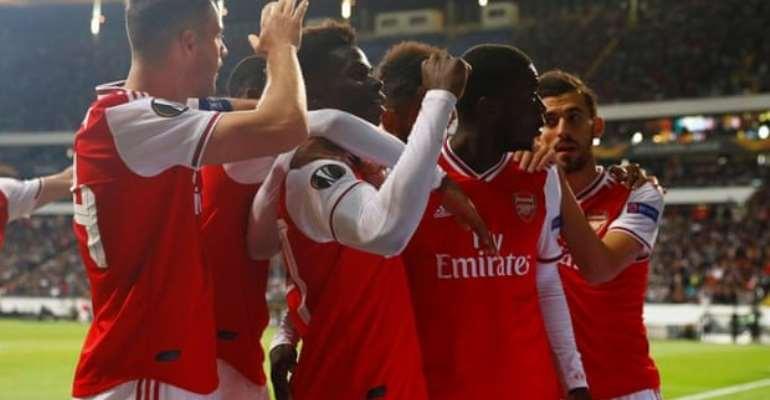 Europa League: Academy Graduates Shine As Arsenal Beat Frankfurt