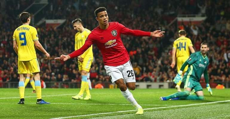 Europa League: Greenwood Saves Man Utd From Astana Shock