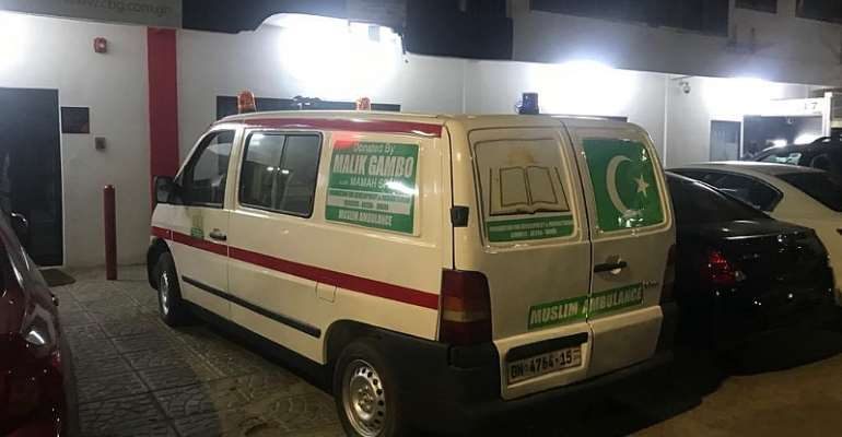 Mahama Spain Donates Ambulance To Community