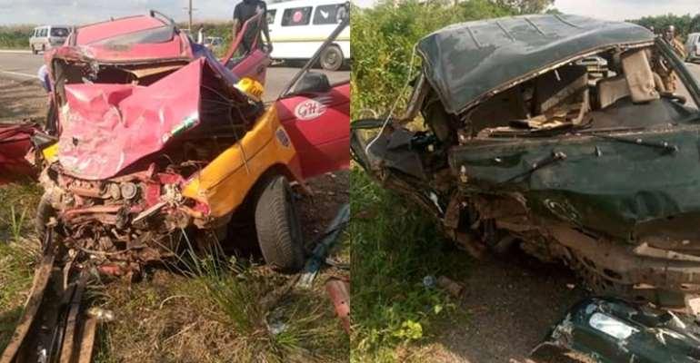 E/R: Four Killed In Road Crash At Somanya