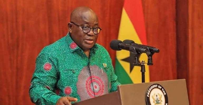 Ghana President, H.E Nana Addo Dankwa Akufo-Addo