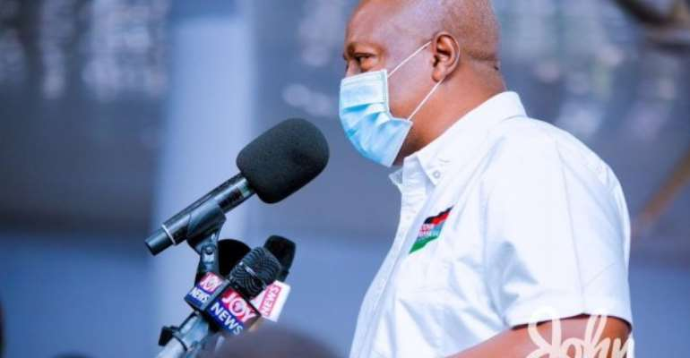 I'll Change Ministry Of Food And Agriculture To Ministry Of Agriculture And Agri-business To Create Businesses For Farmers  — Mahama