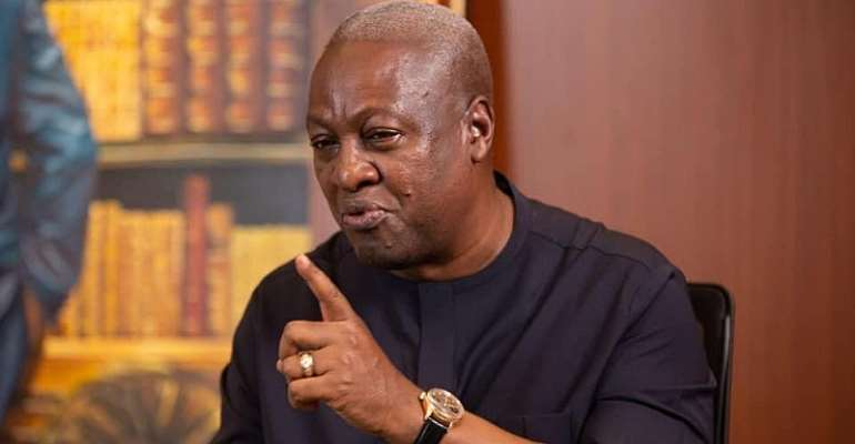 Show Me One School, Hospital Akufo-Addo Has Built, He Is Nowhere Near Me In Infrastructure Delivery – Mahama