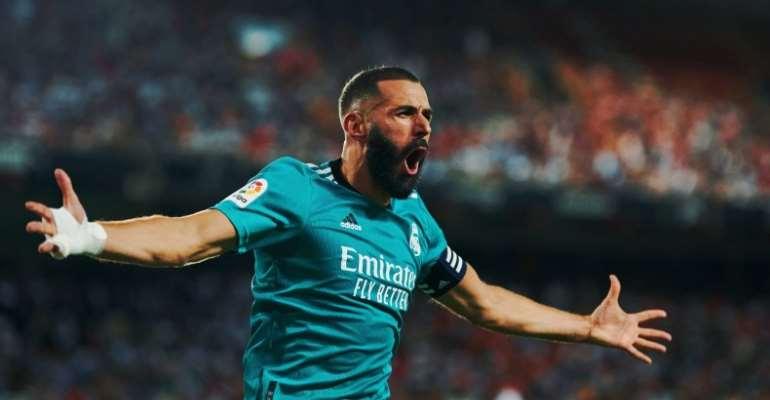 La Liga: Benzema strikes again as Real Madrid stun Valencia