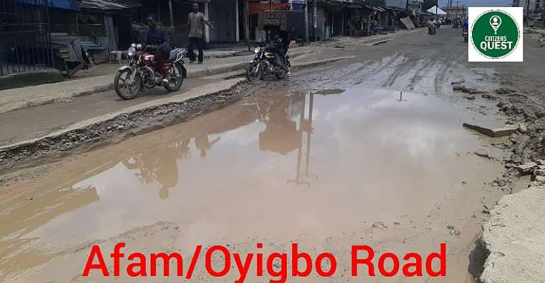 Act on the deplorable state of Oyigbo-Afam road — Group tasks concerned authorities