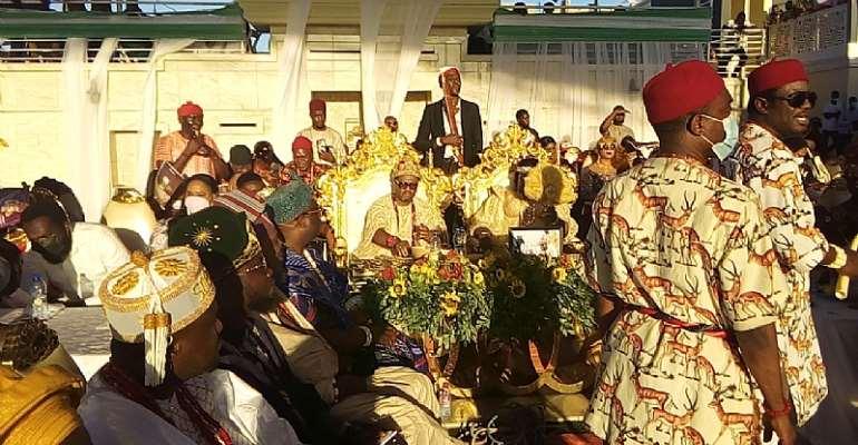 Igbos in Ghana marks Annual Yam Festival