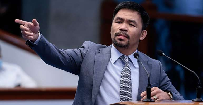 Manny Pacquiao to run for Philippine president in 2022