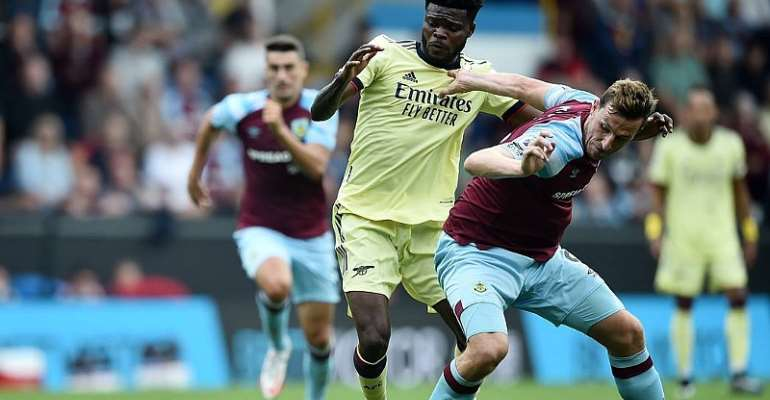 'He was our anchor' - Arsenal boss Arteta praises Thomas Partey's impressive performance against Burnley