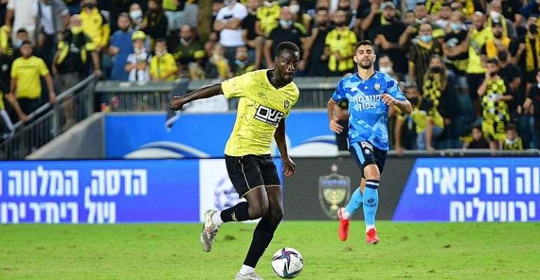 Edwin Gyasi stars in Beitar Jerusalem stalemate with Maccabi Netanya F.C.