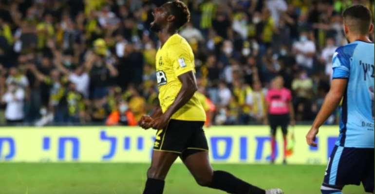 Richmond Boakye-Yiadom scores as Beitar Jerusalem share spoils with Maccabi Netanya F.C.