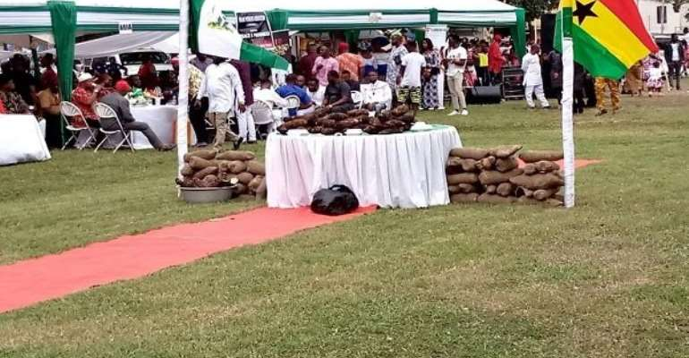 We promise to continue to abide by the laws of Ghana — says Eze Chukudi Ihenetu as Igbos celebrate Yam Festival in Accra