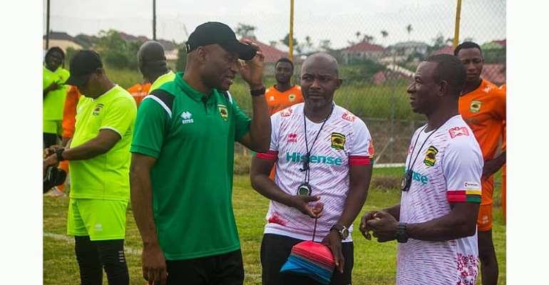 Prosper Narteh Ogum begins pre-season with Asante Kotoko
