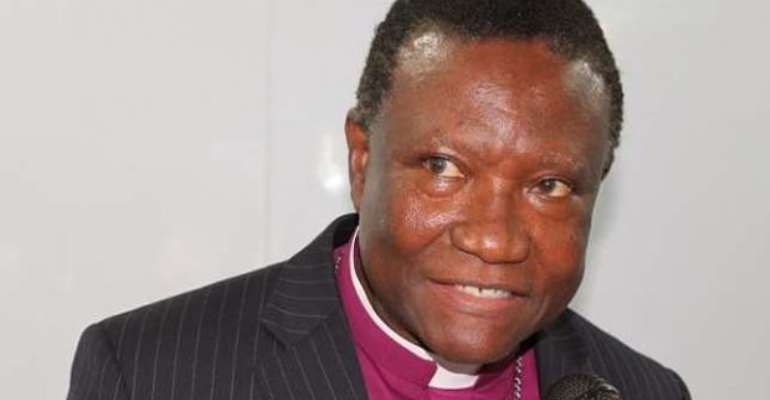 Most Reverend Professor Emmanuel Asante, Chairman of the NPC