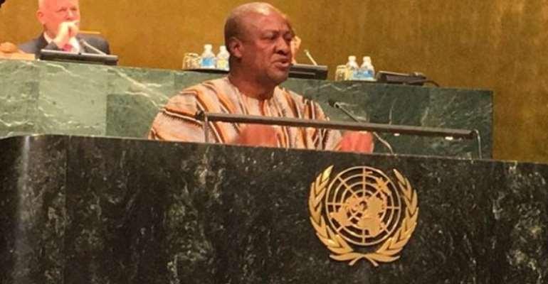 UN: Africa needs fair chance to trade not sympathy - Mahama