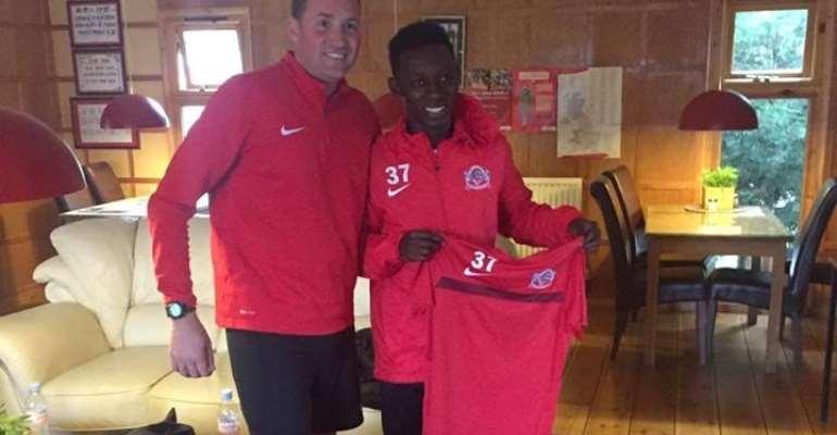 English side Buckswood Academy snap up Ghanaian teenager George Asomani