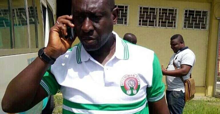 Striker Stephen Manu believes coach Yussif Abubakar's departure sent Techiman City to relegation