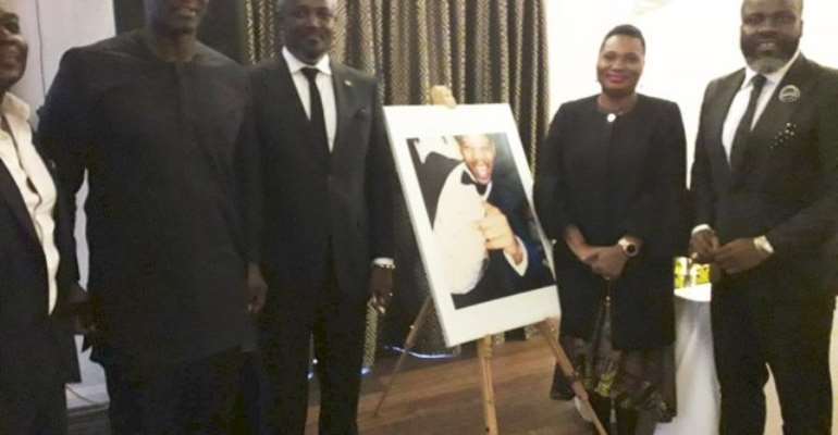 Perry Okudzeto Leads Ghana Delegation To Junior Agogo's Funeral In London