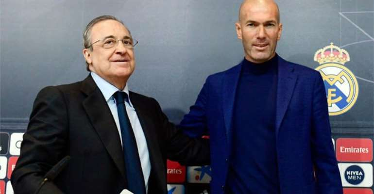 Sacking Zidane Would Cost Real Madrid €80m