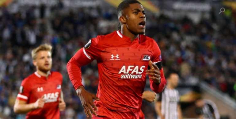 AZ Alkmaar Forward Myron Boadu Ditch Ghana For Holland