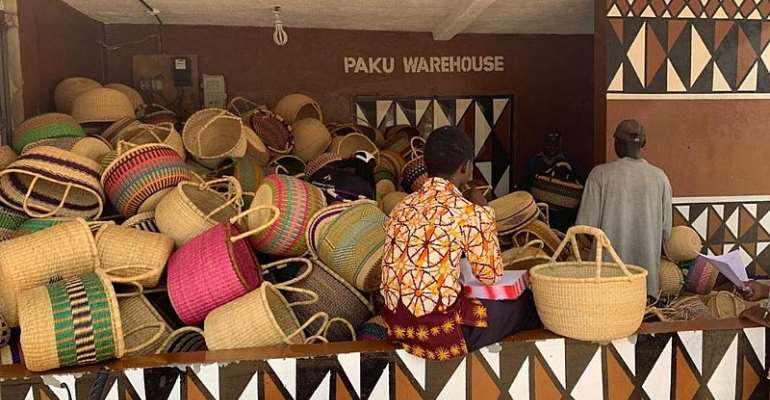 One of the Warehouses of Paku Enterprise Ghana in Bolgatanga of the Upper East Region