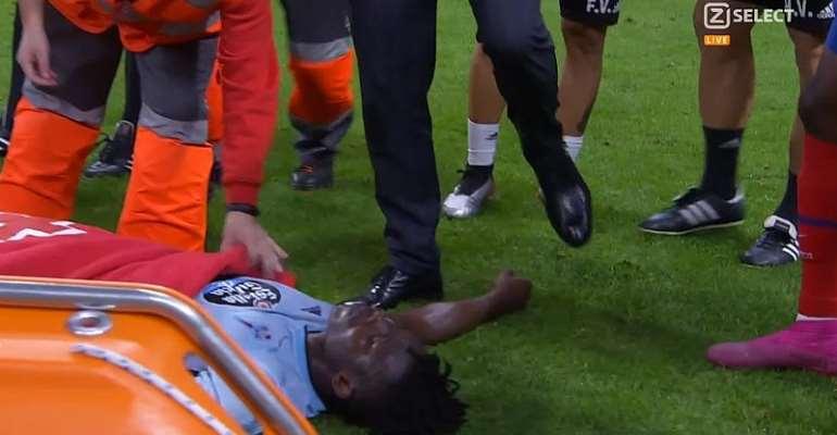Joseph Aidoo Injured As Celta Vigo Share Spoils With Atletico Madrid