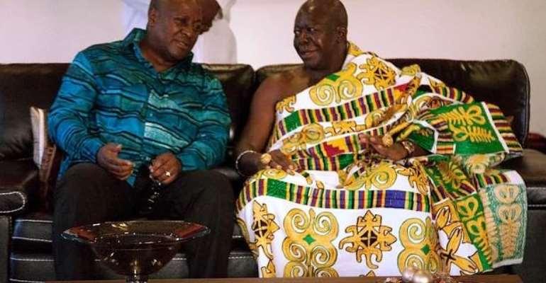 Julius Debrah's statement was to clarify matters not undermine Otumfuo – Mahama