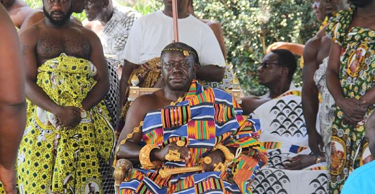 Asantehene, Otumfuo Osei Tutu II, celebrated 'Awukudae' in the United States of America.