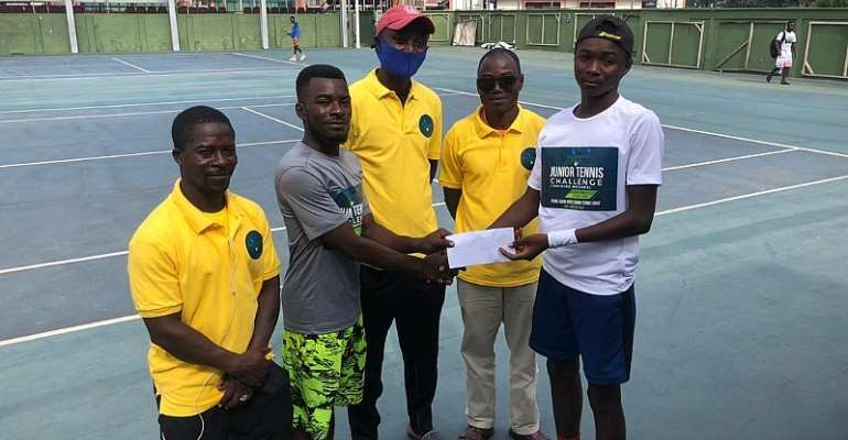 Yakubu Lea Wins Isaac & Joshua Nunoo Junior Tennis Challenge