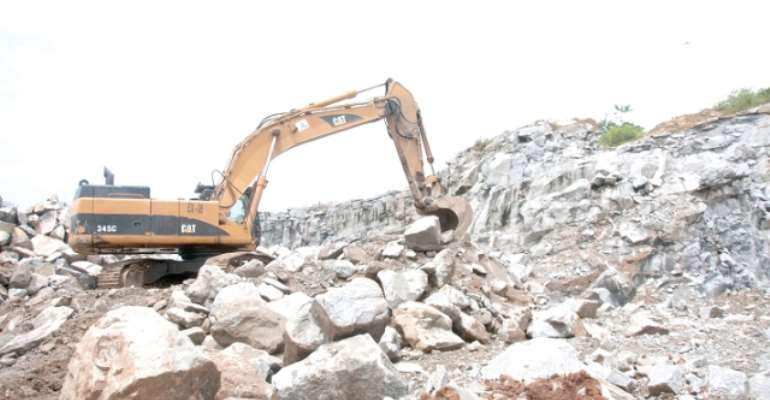 Kasoa: Tipper Truck Drivers Threaten Strike Over High Cost Of Quarry Materials