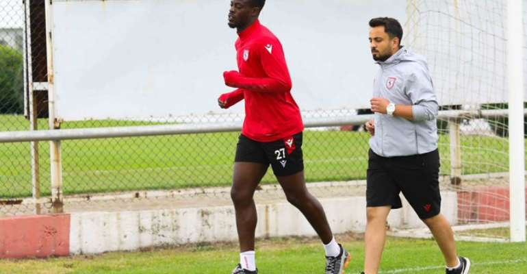 Edwin Gyasi returns to training