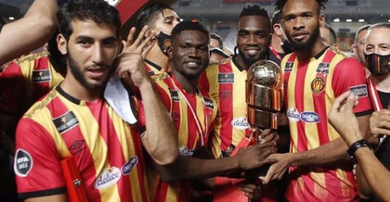 Ghana Midfielder Kwame Bonsu Clinches Second Trophy With Esperance