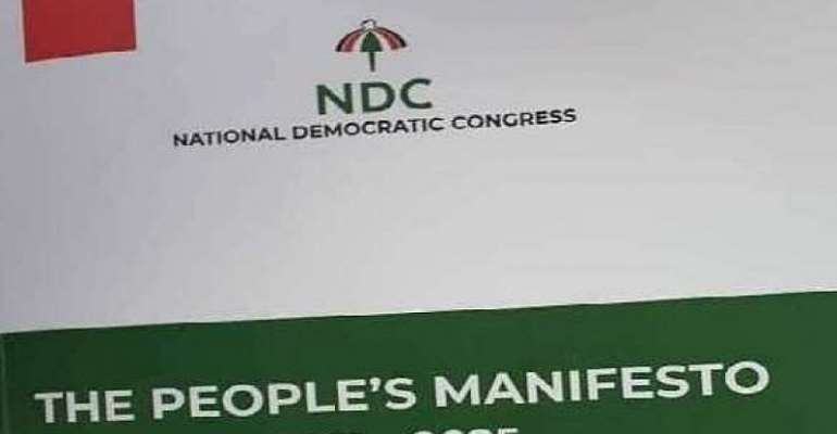 A Review Of Environment And Sanitation Policies In NDC's 'Peoples Manifesto'