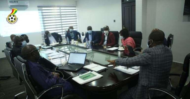 Executive Council of The Ghana Football Association [GFA]
