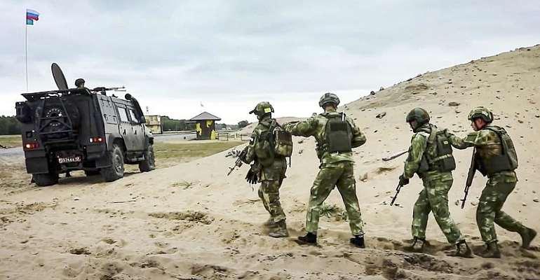 © Russian Defense Ministry Press Service via AP
