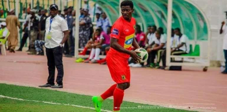 Kotoko Offloading Defender Evans Owusu