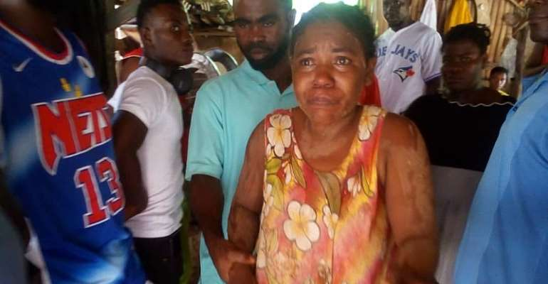 W/R: Missing 9-month pregnant woman found at Axim without 'pregnancy'
