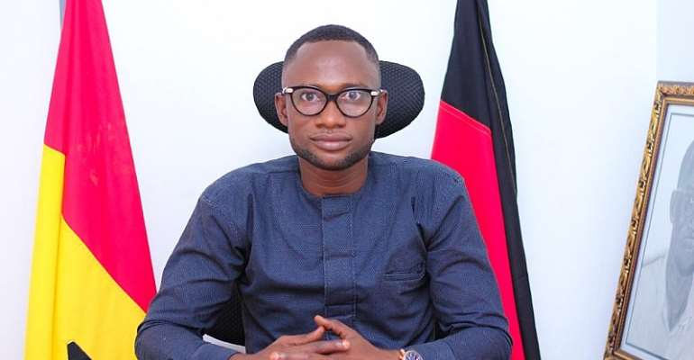 NDC Regional Communication Officer for the Western North Region Sam Jerome