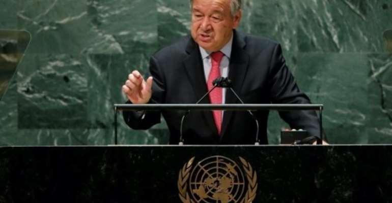 UN Secretary-General António Guterres calls for bridging gap between poor and rich