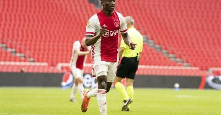 Ghana star Mohammed Kudus scores for Ajax on return from injury