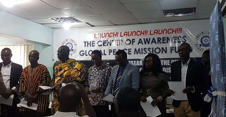 Centre Of Awareness Global Peace Missions Unveils Fund For HIV Cure