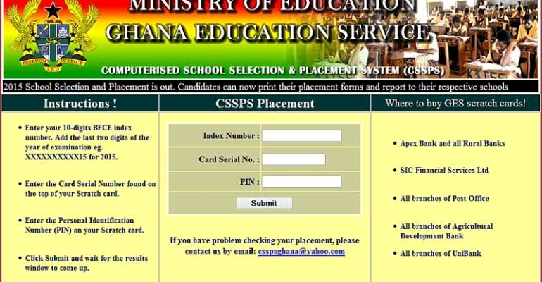 SHS Placement To Be Released By Friday
