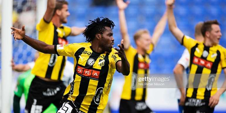 Kwame Kizito Scores On His Debut As BK Häcken Dismantle Allsvenskan