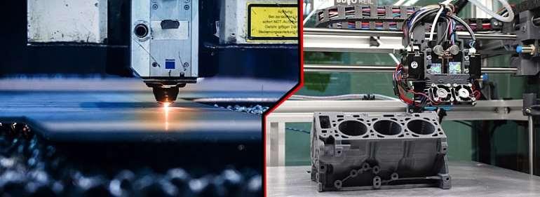 CNC Machining Versus 3D Printing