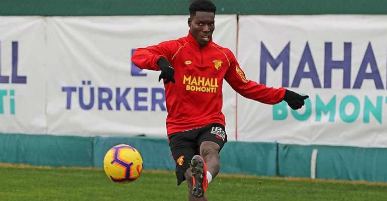 Baba Rahman Excited With Lumor Agbenyenu's Reunion At Real Mallorca