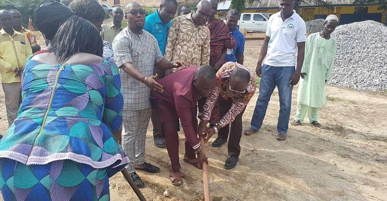 Anglogold Ashanti Iduaprime Mine - Tarkwa  sod cutting