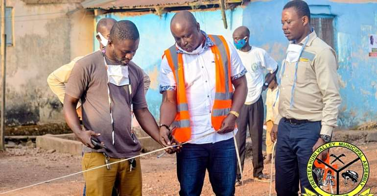 Prestea Huni-Valley MCE Embarks On Project Inspection Tour