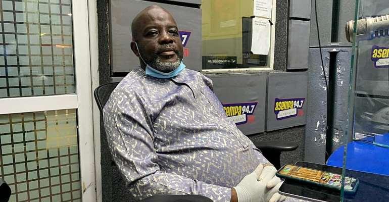 Wilfred Osei Kwaku Palmer. Image Credit/Asempa FM